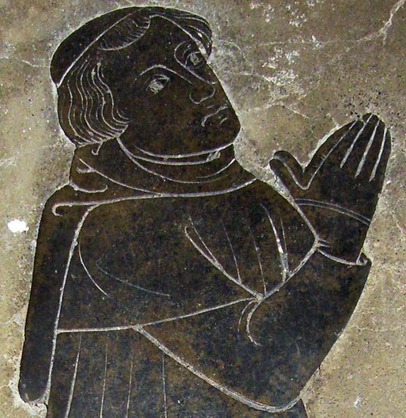 Saint Botolph; Image source: Medieval Combat Society effigies
