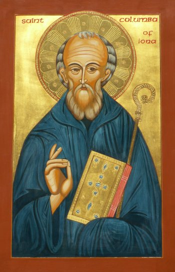 Saint Columba (or Columbkille)