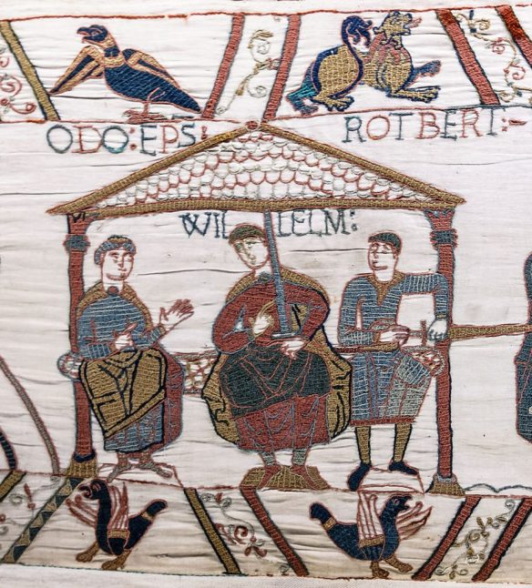 A Norman tapestry contemporary with the life of Blessed Earl (source/details)