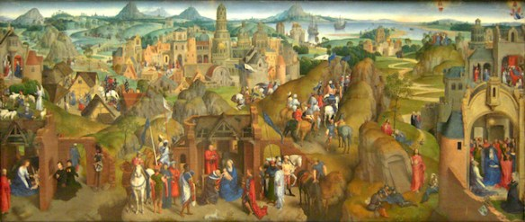 Hans Memling (circa 1433–1494), The Seven Joys of Mary (source)