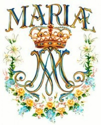 Monogram of the Holy Name of Mary