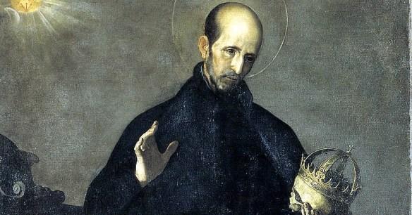 Saint Francis Borgia (detail), by Alonzo Cano (1601–1667)