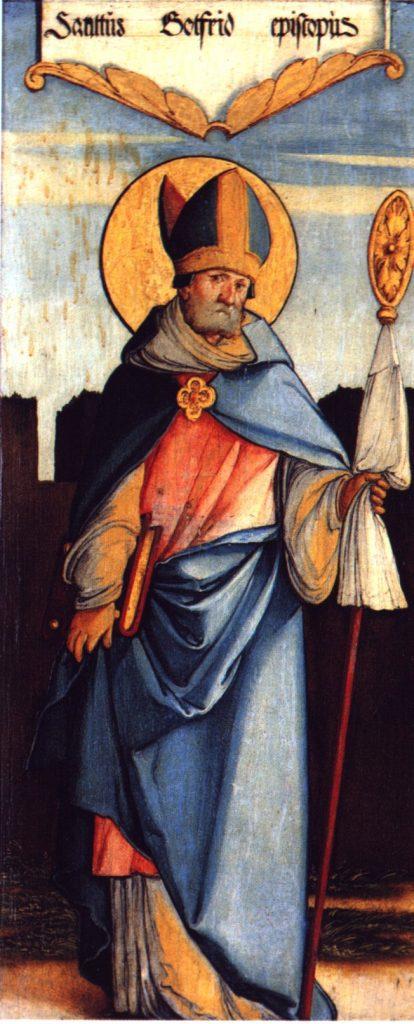 Meister von Meßkirch (1500–1543) https://commons.wikimedia.org/wiki/File:Heiliger_Gottfried.jpg