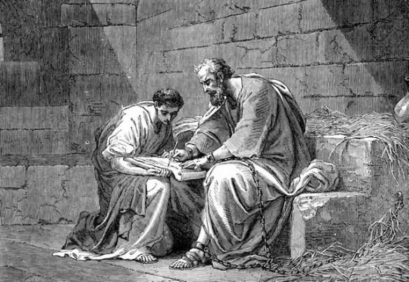 Saint Paul in Prison, by Gustave Doré
