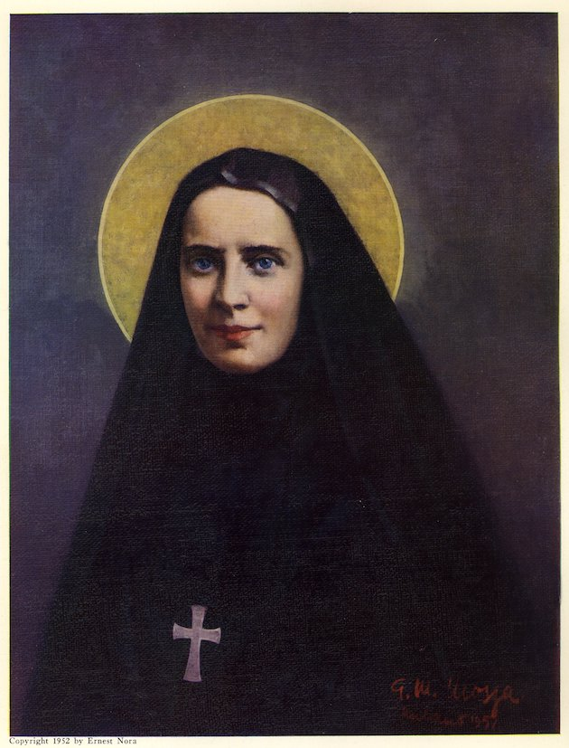 First Canonized Saint of the United States, Mother Frances