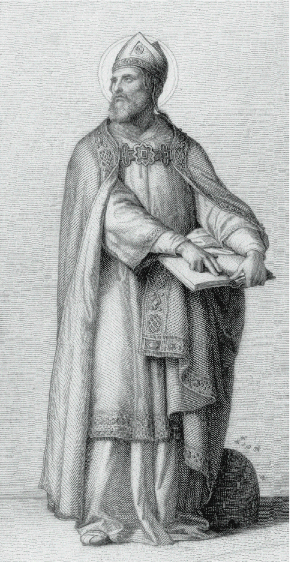 St. Ambrose, Bishop of Milan and Doctor of the Church