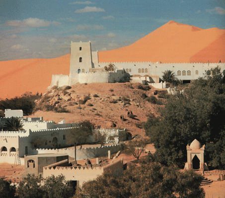 French fort in Beni Abbes, Algeria.