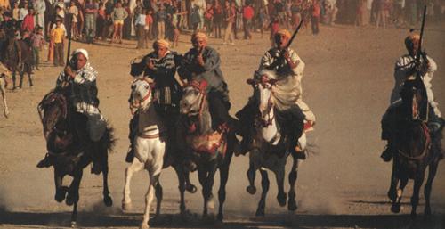 Moroccan Horsemen