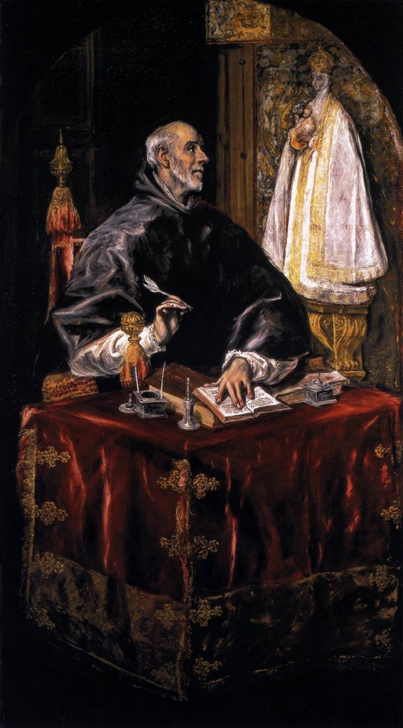 Saint Ildephonsus, as portrayed by El Greco.