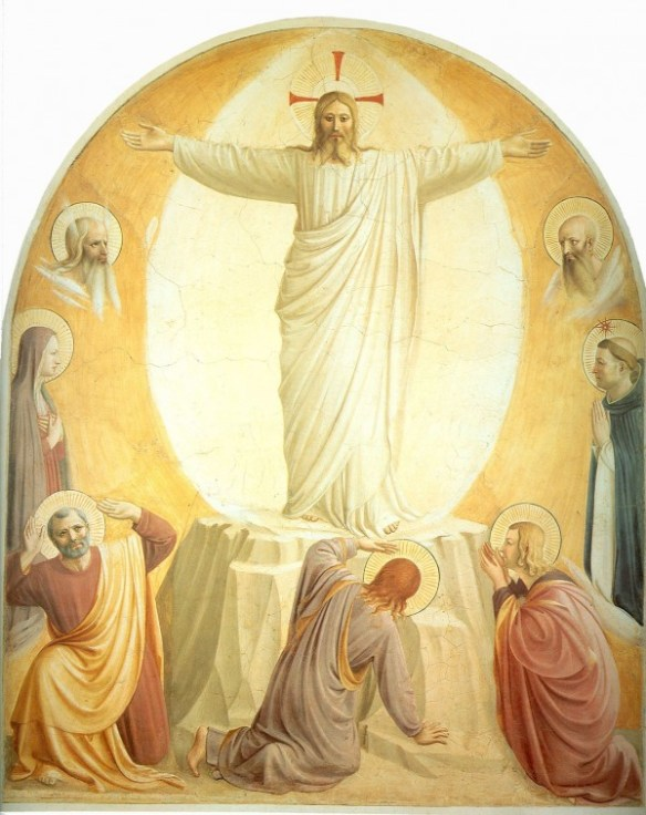 Transfiguration of Christ by Blessed Fra Angelico (1441)