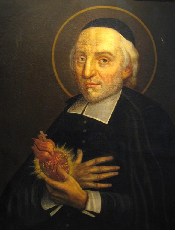 St. John Eudes, to who we are praying to find a priest