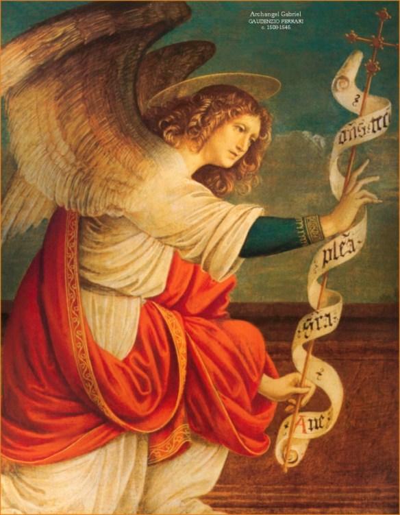 Saint Gabriel, by Gaudenzio Ferrari