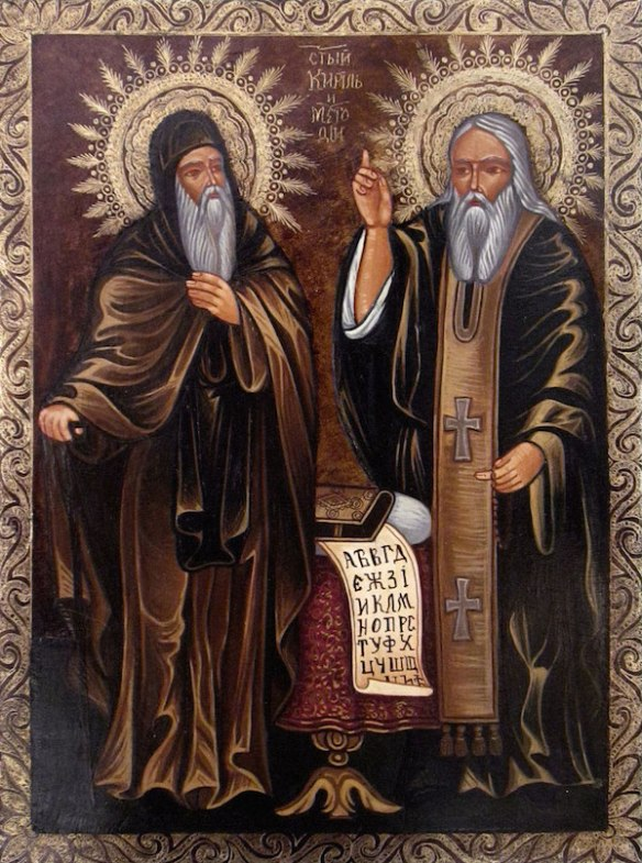 Saints Cyril and Methodius (source)