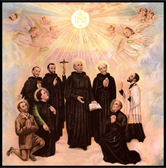 The Eight North American Martyrs