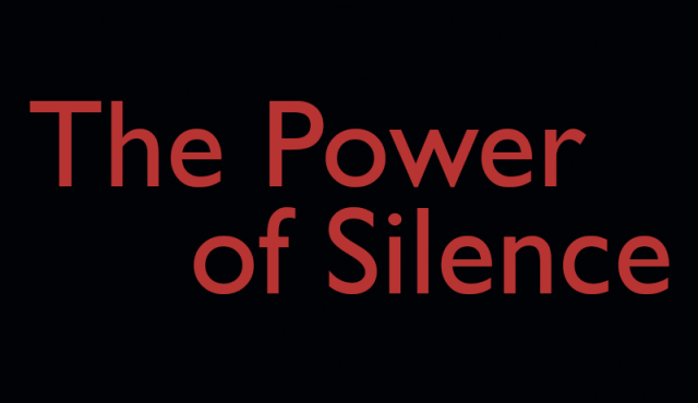 Image result for the power of silence