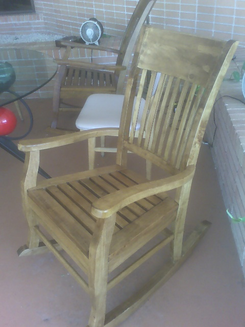 2008 rocking chair gift from Seniors @ St John Vianney College Seminary, Miami, FL