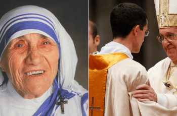 Let's say Mother Teresa's prayer for priests today