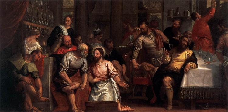 Holy Wednesday – Three Things are Symbolised by the Washing of the Feet
