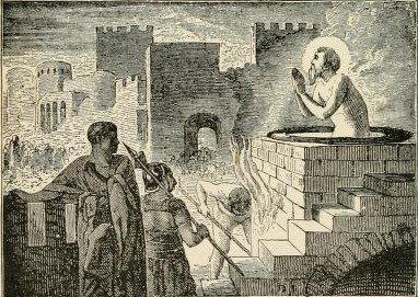 St. John before the Latin Gate
