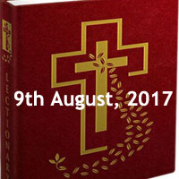 Wednesday of the Eighteenth Week in Ordinary Time - Missal Reading