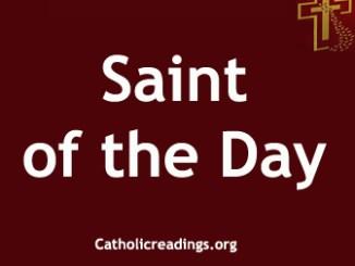 Catholic Saint of the Day
