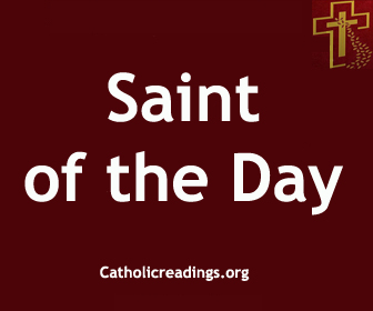 Catholic Saint of the Day
