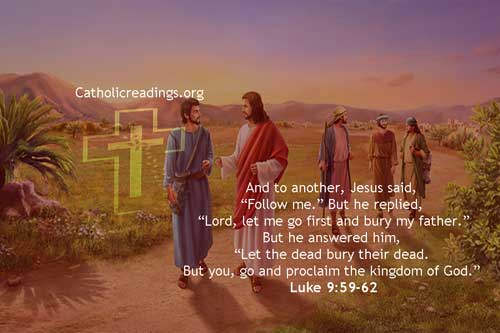 Let the Dead Bury their Dead - Bible Verse of the Day