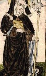 Saint Wiborada of Gall