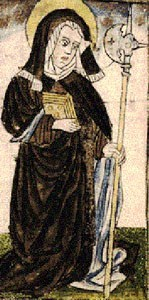 Saint Wiborada of Gall