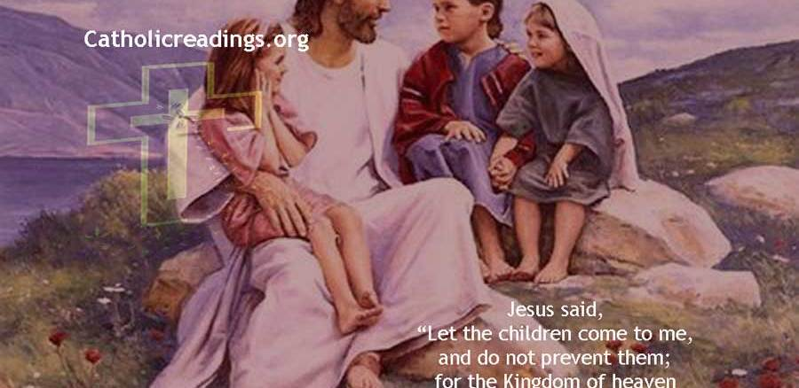 Let the Children Come to Me - Bible Verse of the Day
