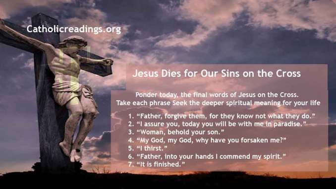 Good Friday: Jesus Dies for Our Sins on the Cross - Bible Verse of the Day