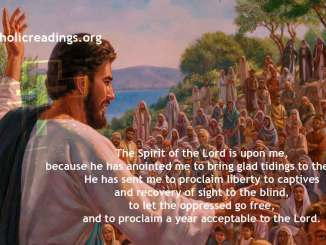 The Spirit of the Lord is Upon Me - Luke 4:14-22 - Bible Verse of the Day