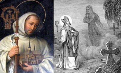[Saint Bernard of Clairvaux and Saint Malachy of Armagh]