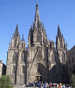 Cathedral of Santa Eulalia, Archdiocese of Barcelona, Spain