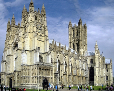[Cathedral of Canterbury, England]