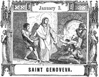 Pictorial Half Hours with the Saints: Saint Genoveva
