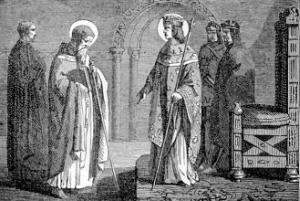 [Pictorial Lives of the Saints: Saint Edmund of Canterbury]