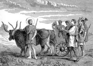 [Pictorial Lives of the Saints: Saint Eustachius and Companions, Martyrs]