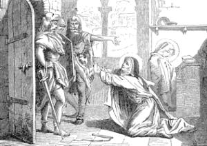 [Pictorial Lives of the Saints: Saint Marcella, Widow]