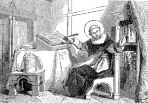 [Pictorial Lives of the Saints: Saint Raymund of Pennafort]