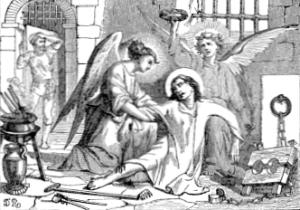 [Pictorial Lives of the Saints: Saint Vincent, Martyr]