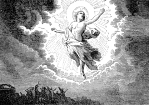 [Pictorial Lives of the Saints: The Ascension]