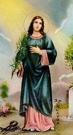 [Saint Agatha of Sicily]