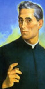 detail from the official portrait of Blessed Arcangelo, artist unknown; swiped from the Vatican web site