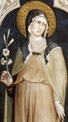 [Saint Clare of Assisi]