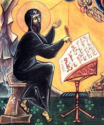 icon of Saint Ephrem of Syria, author unknown