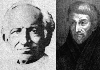 [Pope Leo XIII and Saint Peter Canisius]