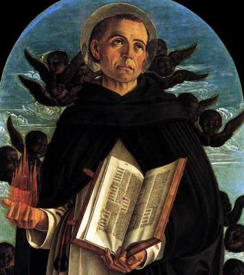 detail from the polyptych of Saint Vincenzo Ferreri, by Giovanni Bellini, 1464-1468, Basilica dei Santi Giovanni e Paolo, Venice, Italy