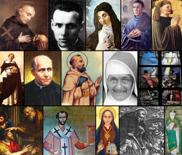 some of the saints and beati celebrated on 25 January