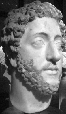 bust of the Commodus in the Museum of Art History, Vienna, Austria; photographed by CristianChirita; swiped off the Wikipedia web site
